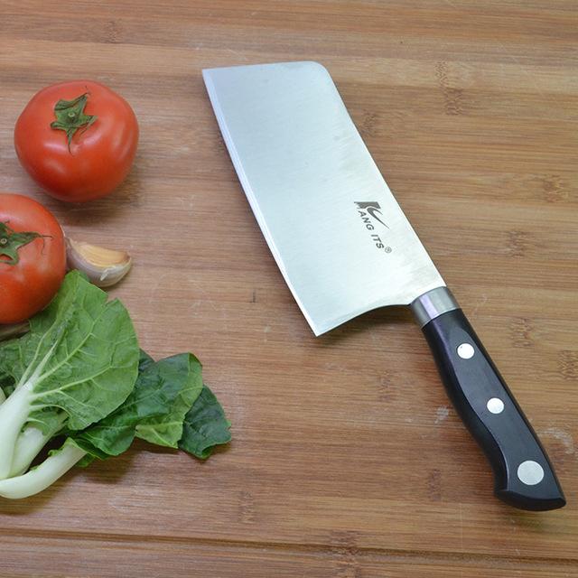 厂家直销 厨房刀具 不锈钢菜刀 菜刀套装 阳江刀具切菜切肉刀批发