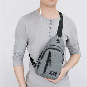 កាបូបបុរស Men Canvas Shoulder Korean Style Casual Bag PZ249871