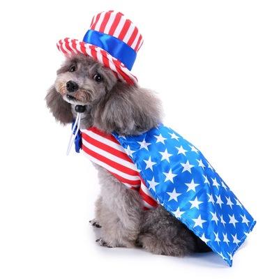 狗狗用品宠物圣诞节衣服创意万圣节圣诞节宠物衣服搞怪狗衣服跨境