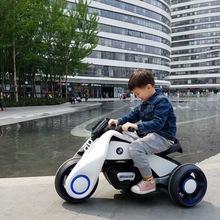 新款贝多奇飓风儿童电动摩托车可坐可骑3-8岁宝宝充电玩具车电瓶