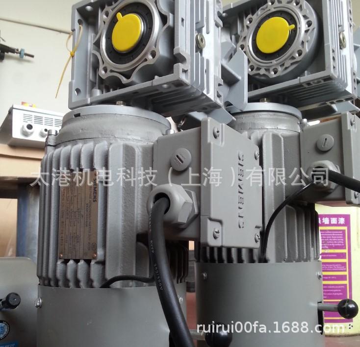 快速门电机  厂家直销 卷帘门专用铝壳刹车制动电机 刹车减速电机