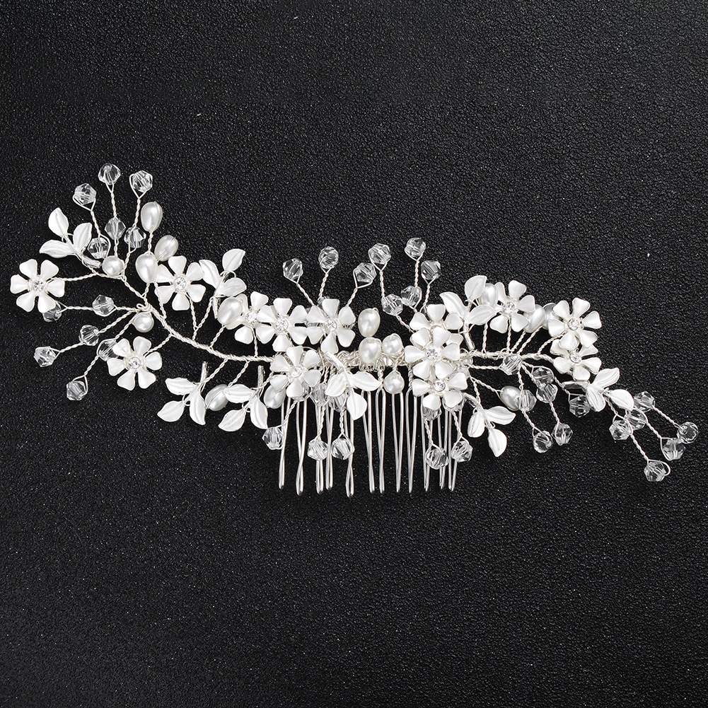 Alloy Simple Flowers Hair accessories  (Alloy) NHHS0578-Alloy