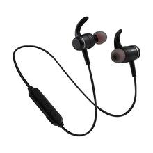 无线蓝牙运动耳机金属磁吸立体声重低音兼容苹果安卓系统耳机礼品