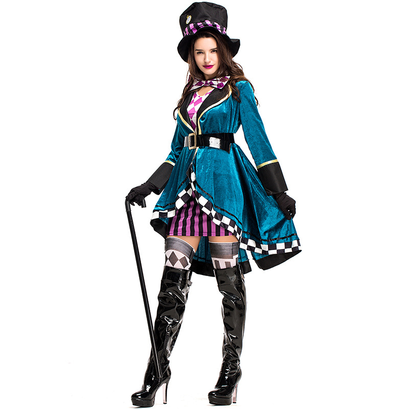 Halloween costume adult female magician performance clothing NHFE155260