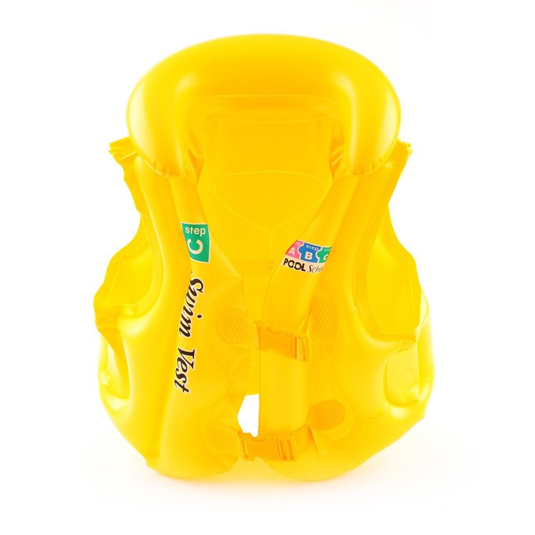Plastic CuteSwimming ring(Yellow S) NHWW0167-Yellow S