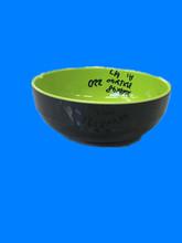 韩式双色碗密胺仿陶瓷库存现货处理按吨卖