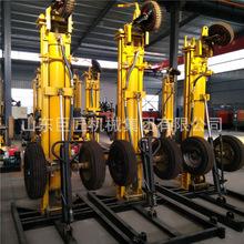 KQZ-180D民用小型气动水井钻机 轮式轻便打井机械设备经济实惠