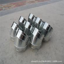 佛山江大白铁皮镀锌螺旋风管通风管道配件连接中央空调通风管