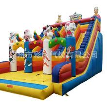 出厂价 厂家直销 最新款式热销充气热带雨林滑梯娱乐城堡