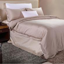 厂家直销 高端贡缎多件套床上用品 高档全棉提花舒适枕 可定制