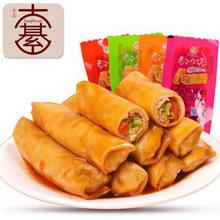 都市派豆香卷夹心豆腐香菇豆干5斤/包零食休闲食品批发