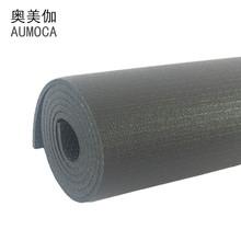 Mật độ cao Cao su Đen Mat PVC Yoga Mat Không trơn trượt Yoga Mat Đen Yoga Mat Thể dục Đen Mat Thảm tập yoga