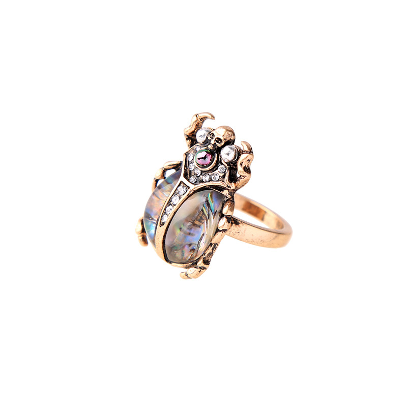 Alloy Fashion Animal Ring(Photo Color) NHQD5164-Photo Color
