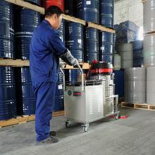 无线电瓶充电式工业吸尘器车间厂房仓库吸灰尘颗粒纸屑