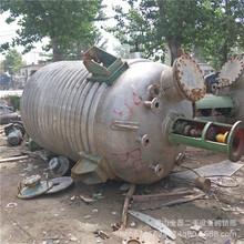 二手不锈钢反应釜 高压反应釜多台 二手搪瓷反应釜  5立方反应釜