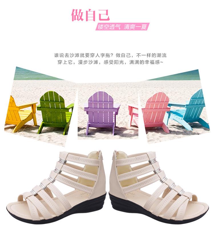 Chaussures été pour femme en Caoutchouc - Ref 3347516 Image 21