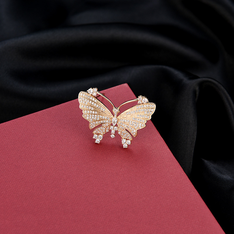 Alloy Fashion Bows brooch  (61187215) NHXS2174-61187215