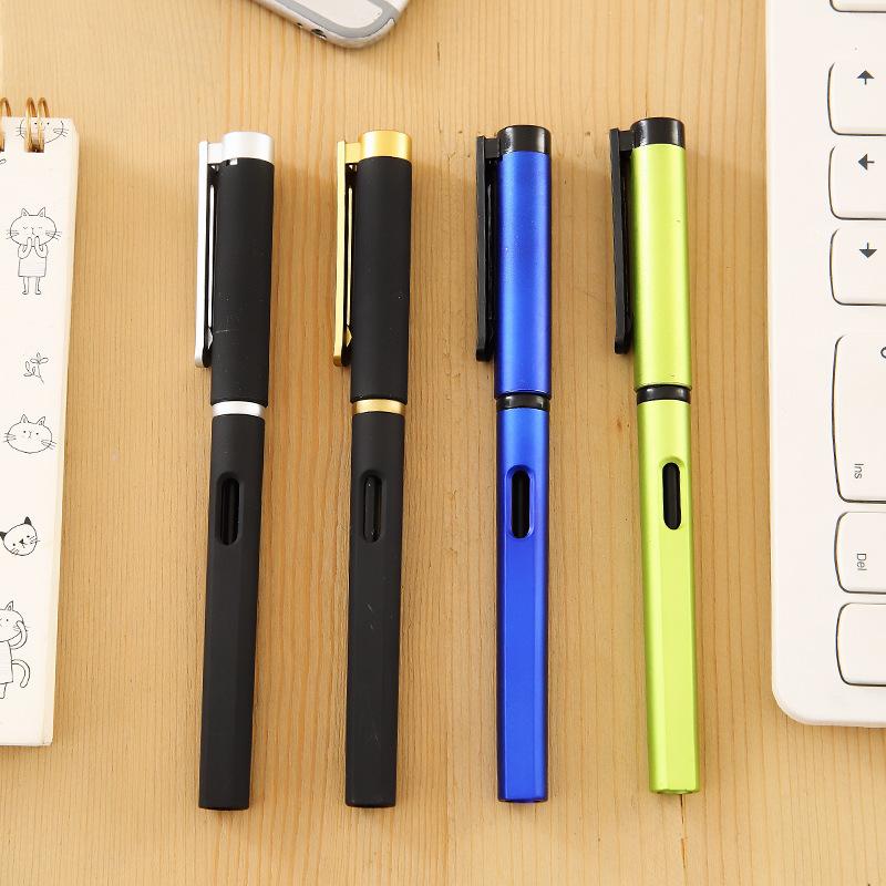 Creative kẹo màu bút gel đồ dùng học tập đơn giản bút bút bút carbon bán buôn 0,5 Bullet