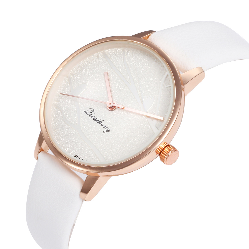 Alloy Fashion  Ladies watch  white NHHK1297white