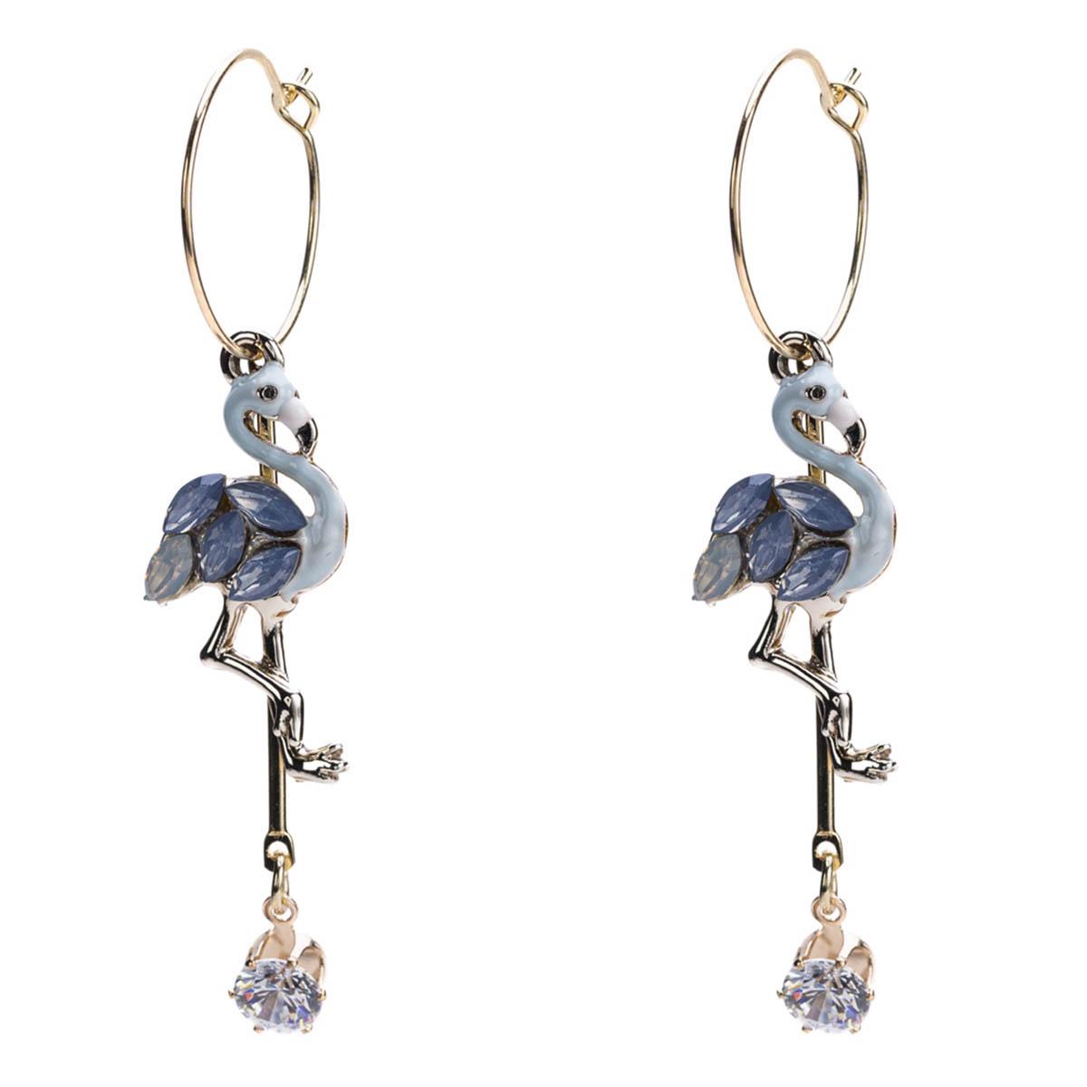 Alloy Fashion Animal earring(white) NHJE1219-white