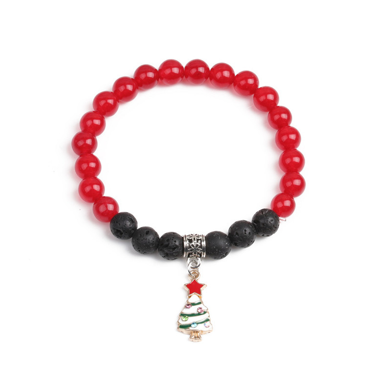 Alloy Fashion Geometric bracelet  (Christmas tree) NHYL0369-Christmas-tree
