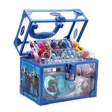 迪士尼兒童化妝品冰雪奇緣公主彩妝套裝玩具女孩5-10歲禮物