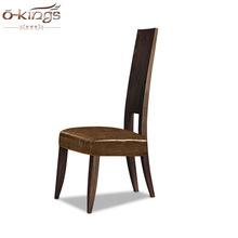 美式复古休闲椅 门厅玄关椅 实木高背椅 餐厅餐椅 高档别墅家具