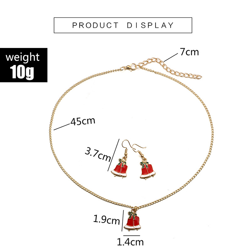 Alloy Simple Geometric necklace(Gold) NHGY2565-Gold