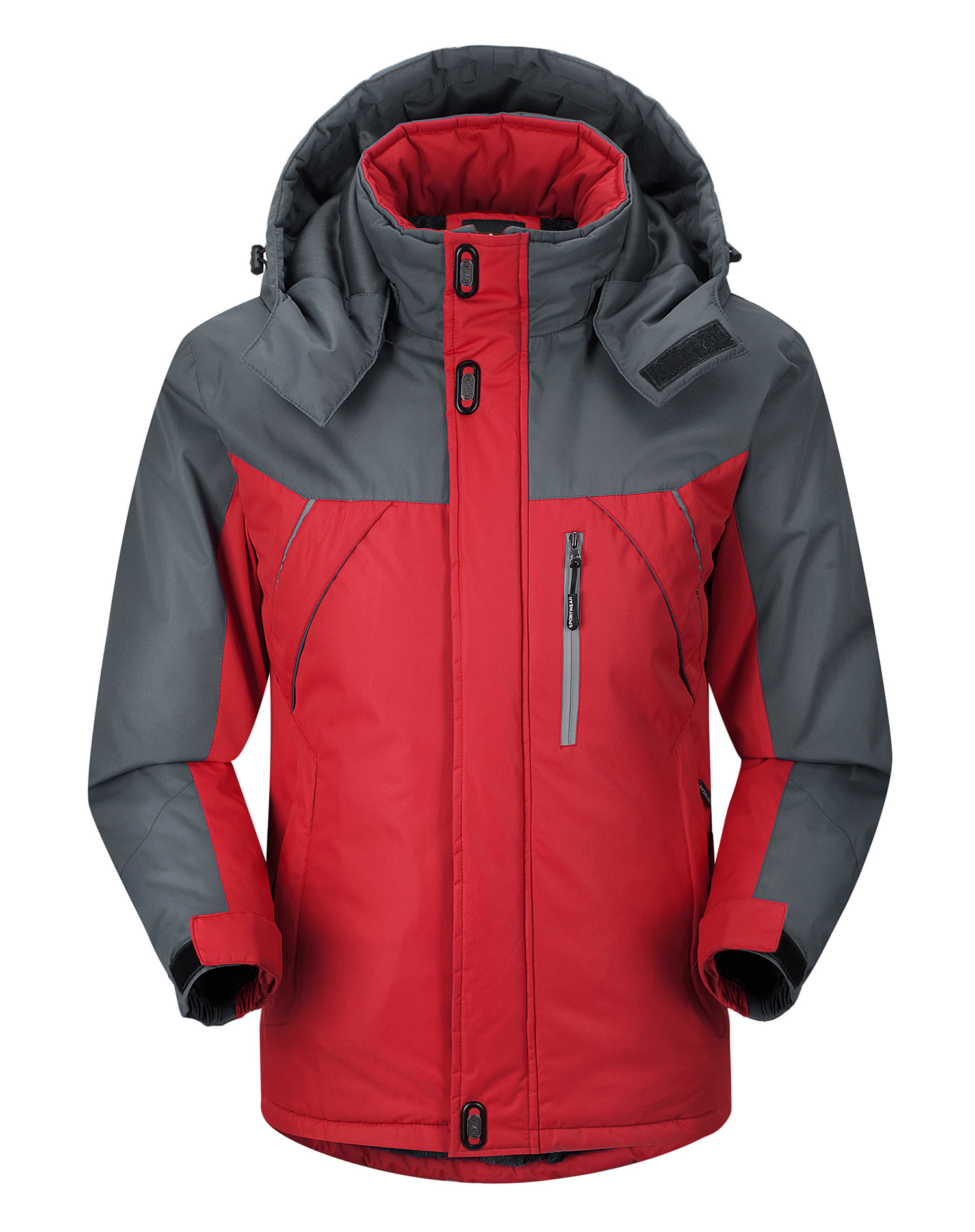 Men'S Winter Cotton Padded Jacket Large Size Thickened Stormsuit Warm Cotton Padded Clothes