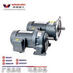 厂家直销万鑫齿轮减速电机组装线用交流传动电动机0.75KW380V马达