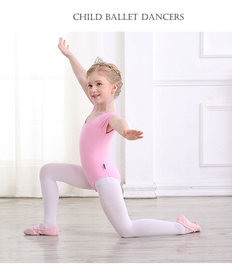 6fd0d653e922 Kids Ballerina Cotton Ballet Dance Gymnastics Leotard for Girls ...