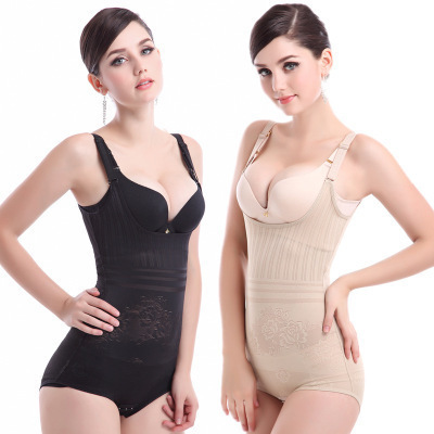 Postpartum triangle One-piece shapewear Women's hip lift abdomen support and chest beauty body corset body shapers