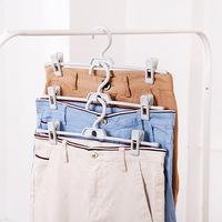 Разноцветный Штаны для штанов 3 штаны для брюк нескользящие без Сушилка для сушки белья