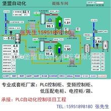 厂家供应PLC成套控制柜 承接各类工业自动化控制系统成套工程项目