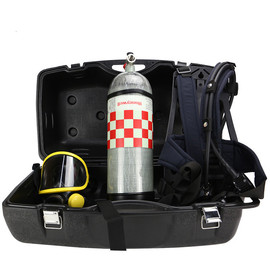 Bacou Positive Pressure Breathing Apparatus Honeywell C900 Positive Pressure Closed Space Rescue Breathing Apparatus