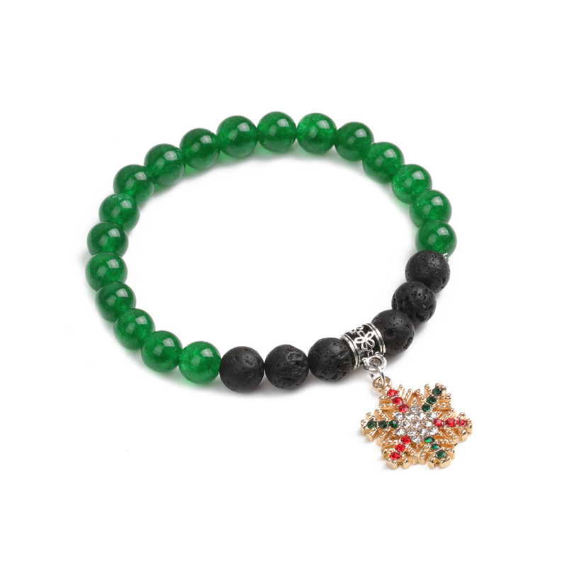 Alloy Fashion Geometric bracelet  (Christmas tree) NHYL0368-Christmas-tree