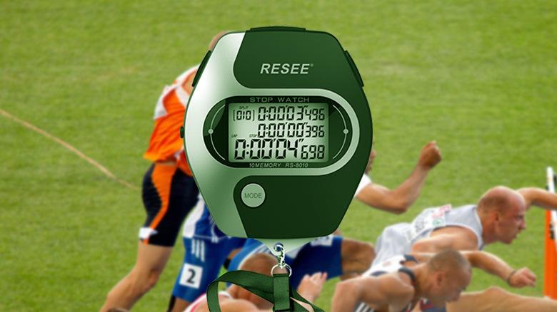 锐赛/RESEE 电子秒表,防水秒表