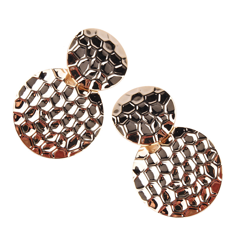 Alloy Fashion Geometric earring(Golden) NHJQ10471-Golden