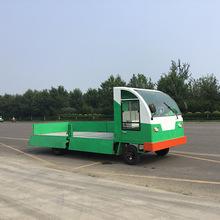 電動四輪平板車倉庫貨車拉貨車大棚專用搬運車電動平板貨車