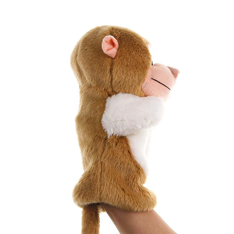 新款手偶猴子毛绒玩具动物造型套手玩偶幼儿园讲故事道具诚招分销