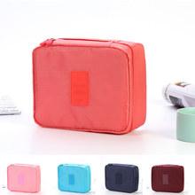 du lịch Hàn Quốc với thế hệ thứ hai có công suất lớn túi lưu trữ túi rửa túi mỹ phẩm gói đơn giản lưu trữ du lịch đa chức năng Quà du lịch