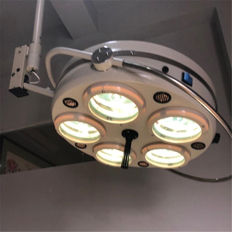 医院用五孔手术无影灯吊式手术灯纹绣灯美容灯落地卤素冷光无影灯
