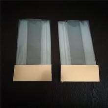 opp双面热封膜方底袋接口在侧风琴OPP热辘四方底袋立体OPP透明袋