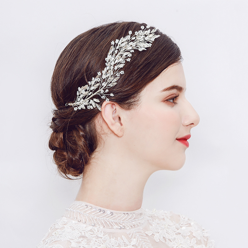Alloy Fashion Geometric Hair accessories  (Alloy) NHHS0237-Alloy