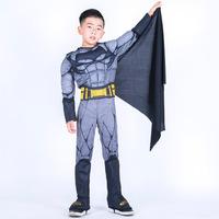 Сценическое представление детские Серийные Костюмы Героя Бэтмена оптовые продажи товар в наличии