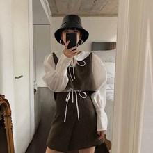 【人气新品】2018网红同款  欧洲站浪漫少女?#27597;?#21476;毛呢短外套装女