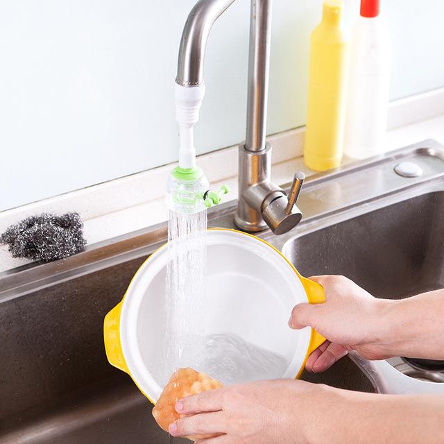 1444水龙头防溅花洒厨房过滤器省自来水节水花洒头过滤嘴节水器