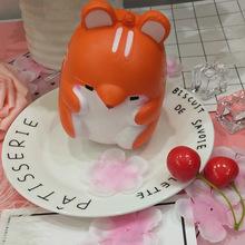 squishy仓鼠慢回弹卡通玩具造型可爱可做收藏可定制各种颜色尺寸