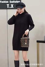 秋冬季新款【安哥拉】双面羊绒长连衣裙款式靓丽价格美丽五件起批