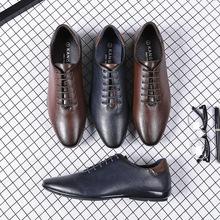 跨境专供英伦风男绅士鞋爆款四季男鞋欧美主流复古男鞋爆款男鞋